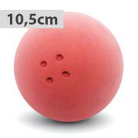 Boßelkugel gummi 10.5cm rot (Hobby) RAU