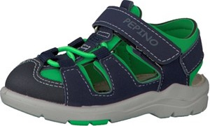 Ricosta GERY nautic/neongreen  Kinderschuhe
