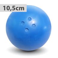 Boßelkugel gummi 10.5cm blau (Hobby)